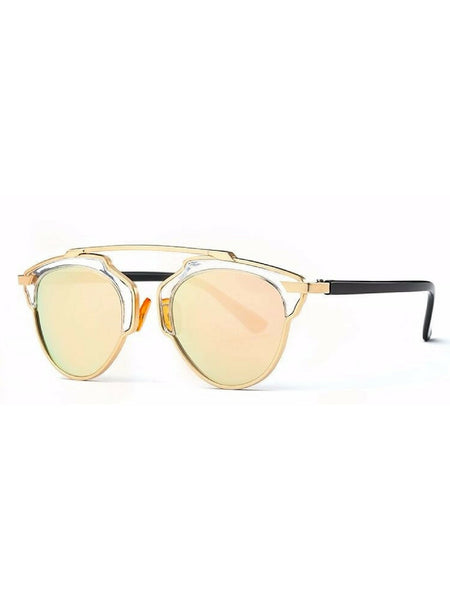ALICE VINTAGE ROSE GOLD SUNGLASSES