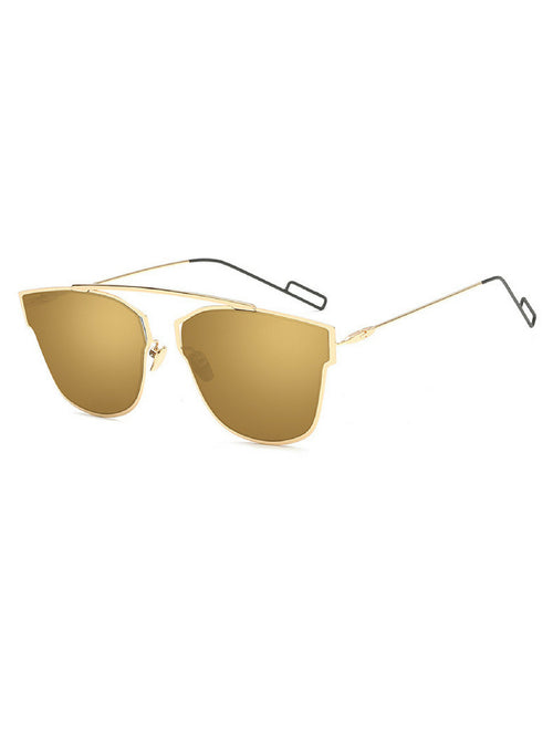 NICOLE GOLD SUNGLASSES