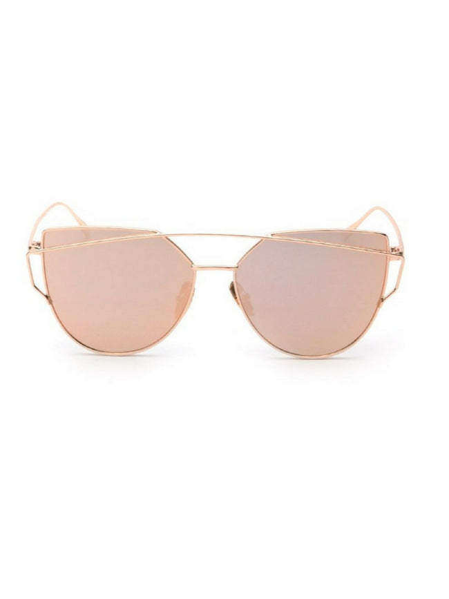 VALENTINO ROSE GOLD SUNGLASSES