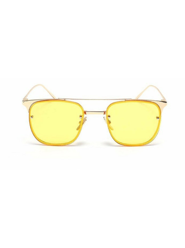 CHLOE TINTED YELLOW SUNGLASSES