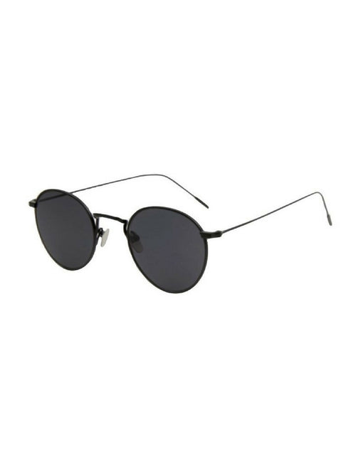 RETRO ROUND BLACK SUNGLASSES