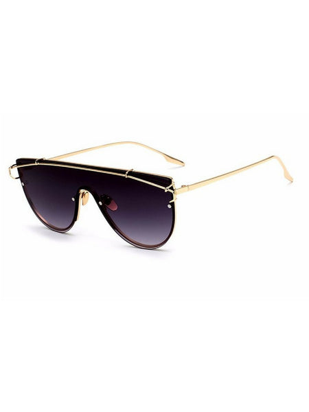 TECHNO BLACK/GOLD SUNGLASSES
