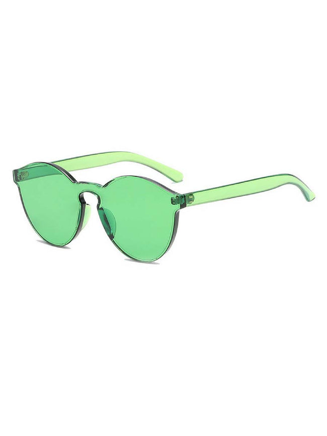 Iconic Tinted Green Sunglasses