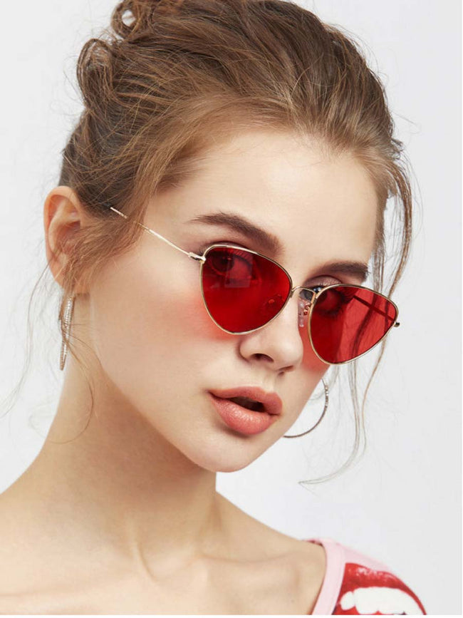 LA Love Red Sunglasses