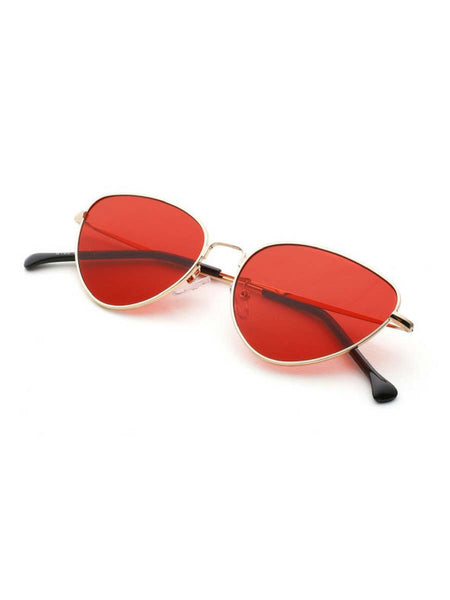 TECHNO SILVER SUNGLASSES