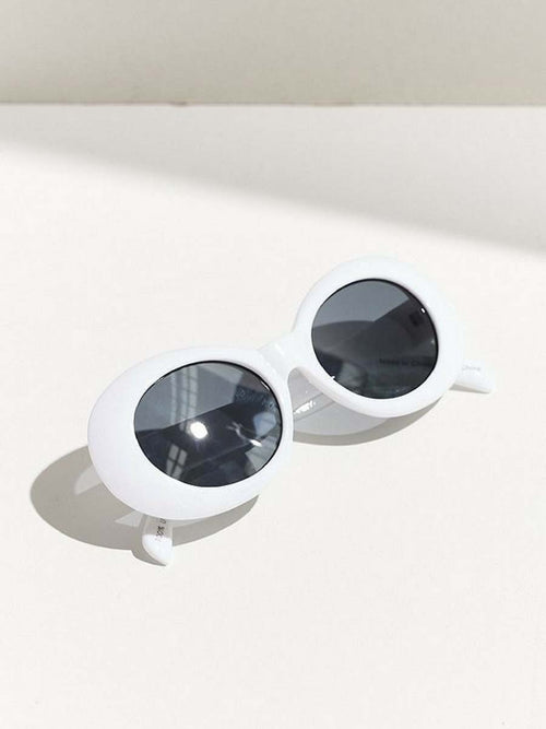 AUDREY WHITE SUNGLASSES
