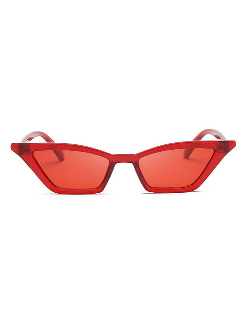 MONROE RED SUNGLASSES
