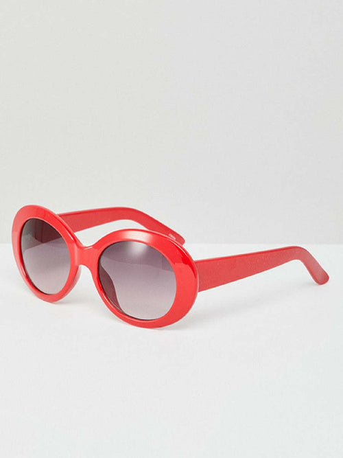 AUDREY RED SUNGLASSES