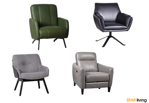 Types of Armchair Furnitures