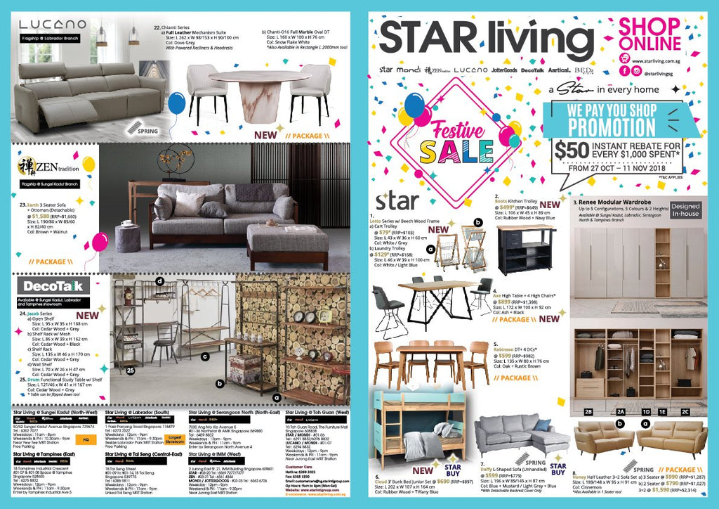 The Straits Times - 27 October 2018 (Saturday) pg1 - Star Living