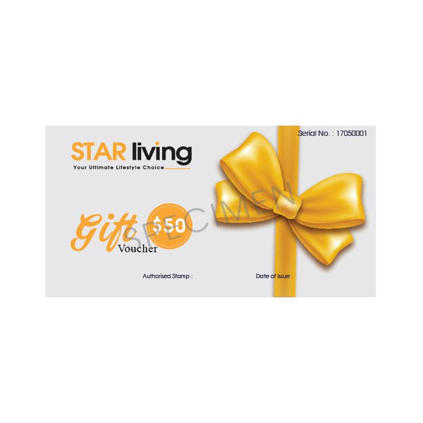 STAR LIVING GIFT VOUCHER