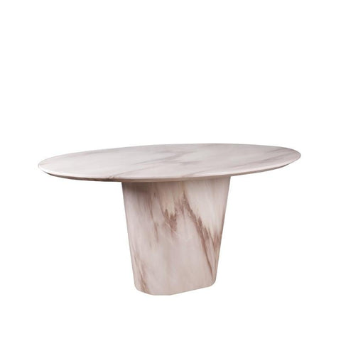 CHIANTI-O16 FULL MARBLE DINING TABLE