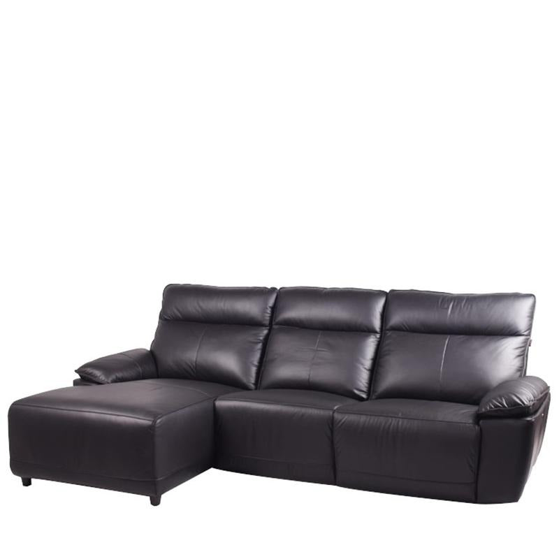 DUKE L-SHAPED SOFA w/ POWERED RECLINER (RHS) - Star Living
