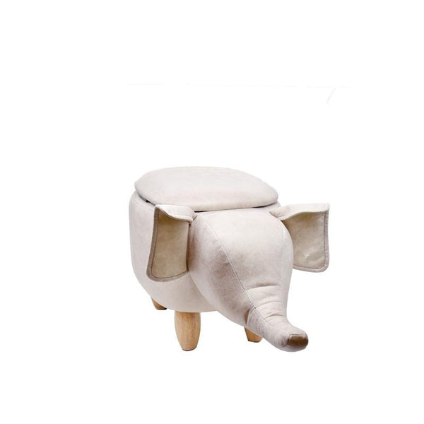 ELEPHANT-N STOOL w/ STORAGE