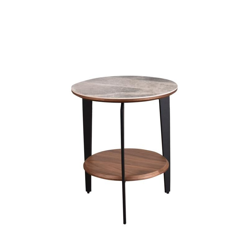 MARS END TABLE w/ CERAMIC TOP