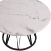 EEVEE ROUND COFFEE TABLE w/ MARBLE TOP