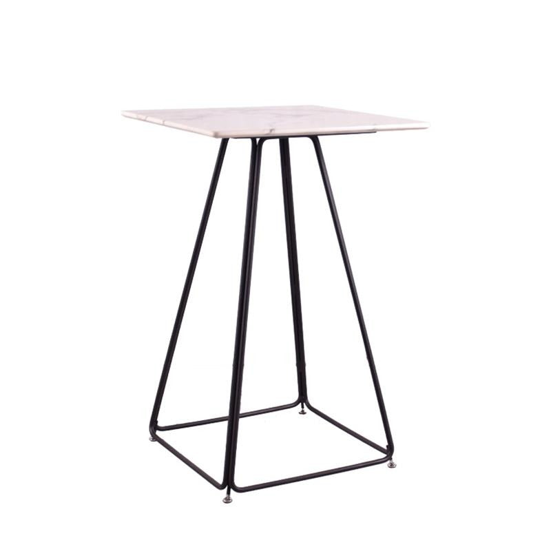 FERRIS HIGH TABLE w/ MARBLE TOP - Star Living