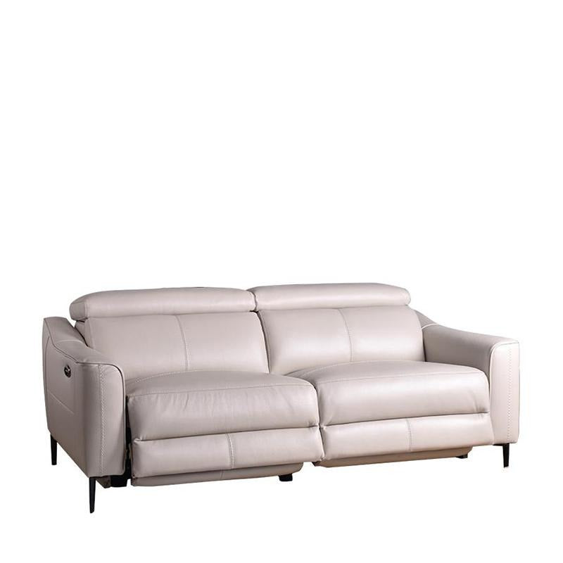 GRACIA 3 SEATER SOFA w/ 2 POWERED RECLINERS - Star Living