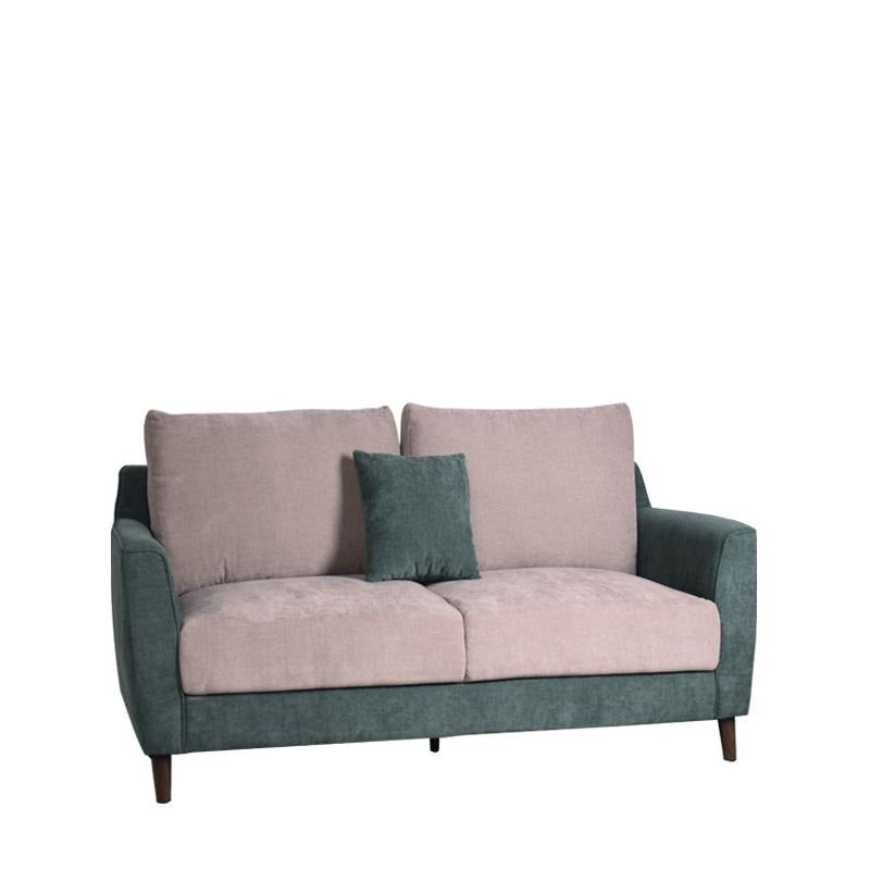 KALE-N 2 SEATER SOFA w/ 1 THROW CUSHION (DETACHABLE BACKREST) - Star Living
