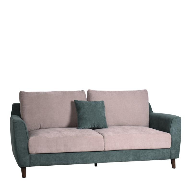 KALE-N 3 SEATER SOFA w/ 1 THROW CUSHION (DETACHABLE BACKREST) - Star Living