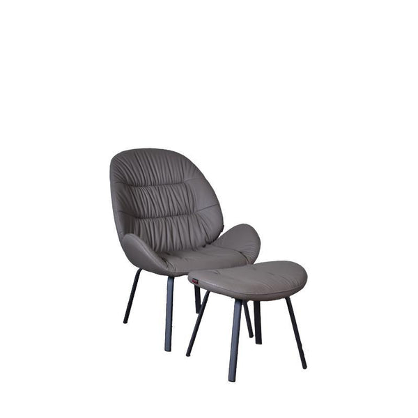 MEREDITH RELAX CHAIR w/ OTTOMAN