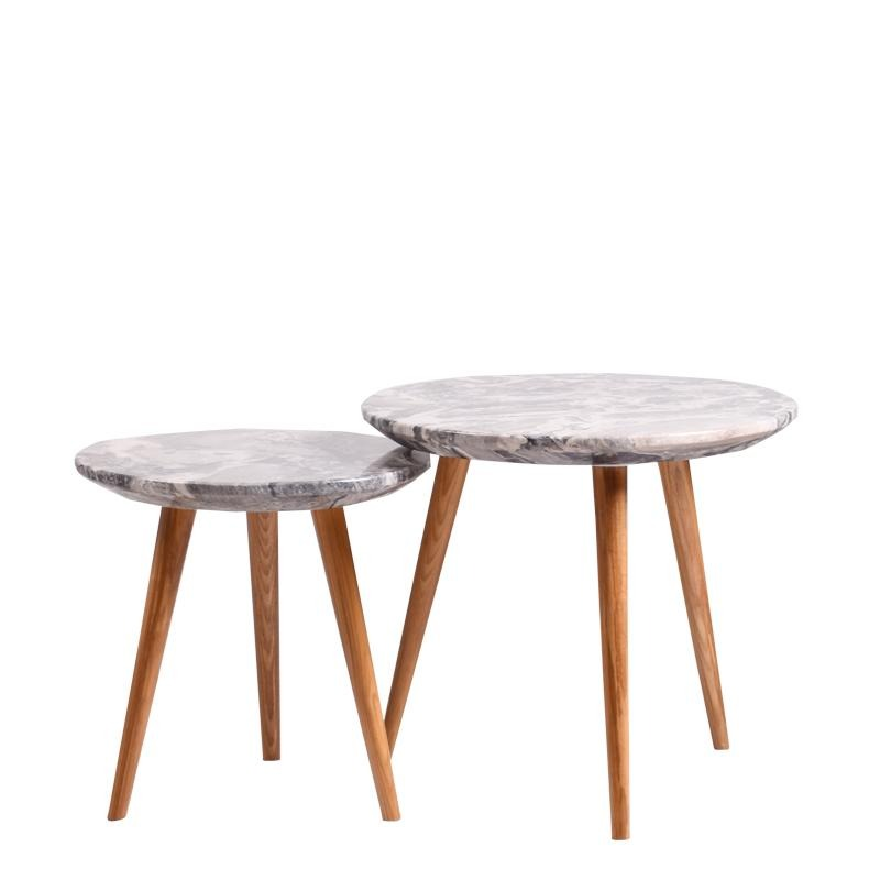 MOON-N NEST OF 2 TABLES - Star Living