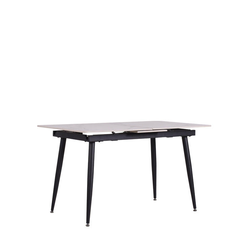 MOON EXTENDABLE DINING TABLE w/ SINTERED STONE TOP