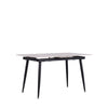 MOON-N EXTENDABLE DINING TABLE w/ SINTERED STONE TOP