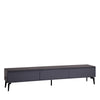 ONYX TV SIDEBOARD w/ SINTERED STONE TOP