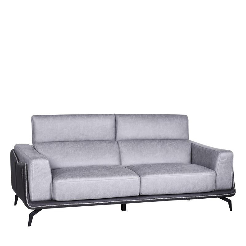 ORION 3 SEATER SOFA w/ USB PORT (UNDETACHABLE)