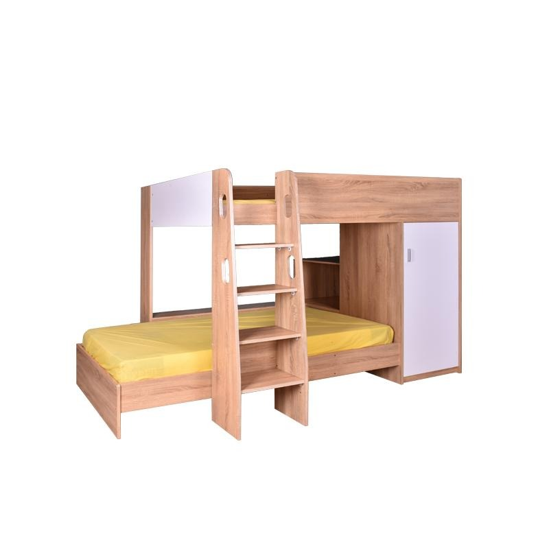 RHINO-N2 JUNIOR SET 3' BUNK BED - Star Living