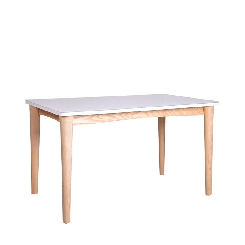 SCHOOL-N2 DINING TABLE w/ GLASS TOP - Star Living