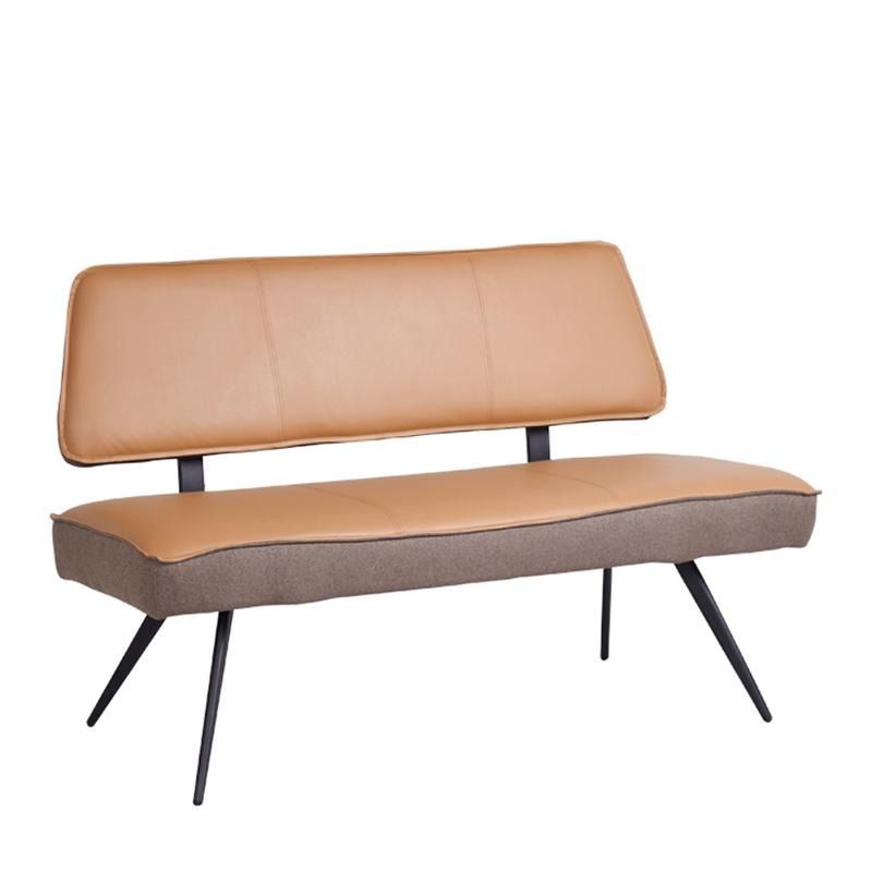 TORCH LONG BENCH w/ BACKREST - Star Living
