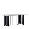 TOWER DINING TABLE w/ SINTERED STONE TOP