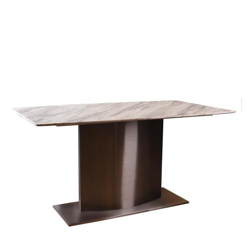 VOLVO DINING TABLE w/ MARBLE TOP