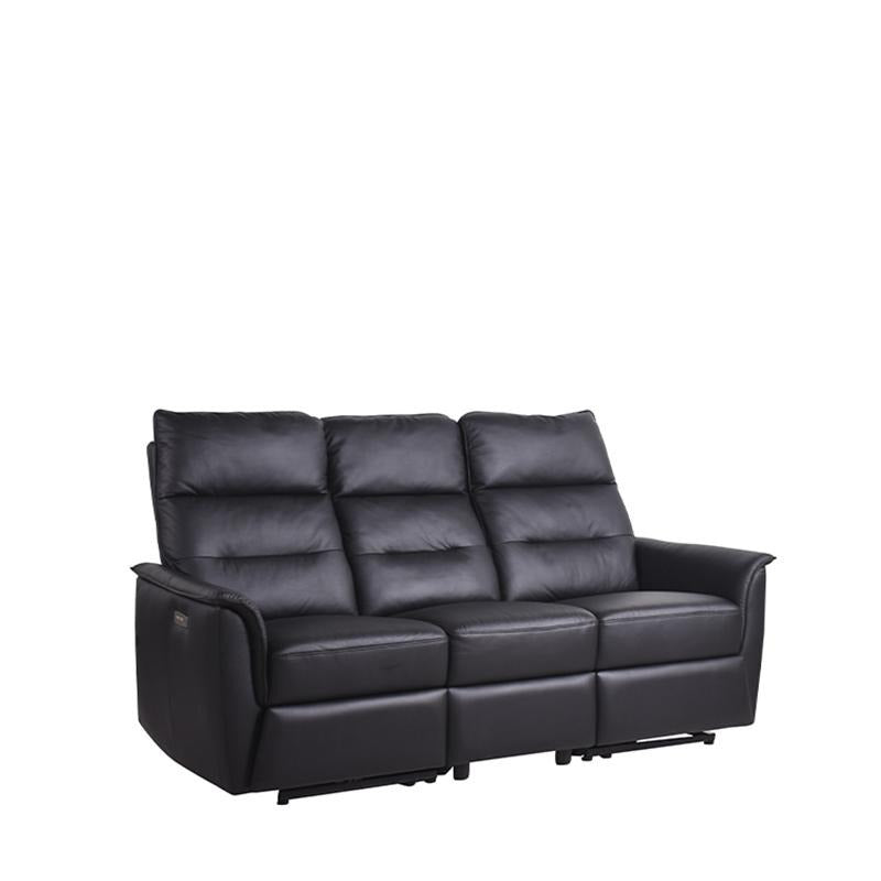 WEBBER 3 SEATER SOFA w/ 2 POWERED RECLINERS
