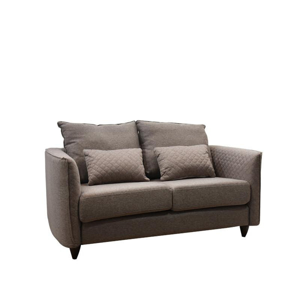 BROWNIE 2 SEATER SOFA w/ 2 THROW CUSHIONS (DETACHABLE)