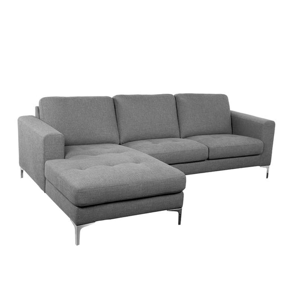 BRUNO-N L-SHAPED SOFA (RHS) (UNDETACHABLE)