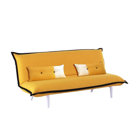 CANARY SOFA BED w/ 2 LONG CUSHIONS (UNDETACHABLE)