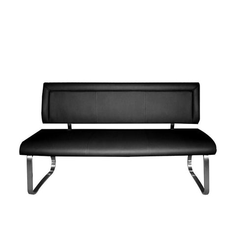 CHANEL LONG BENCH w/ BACKREST