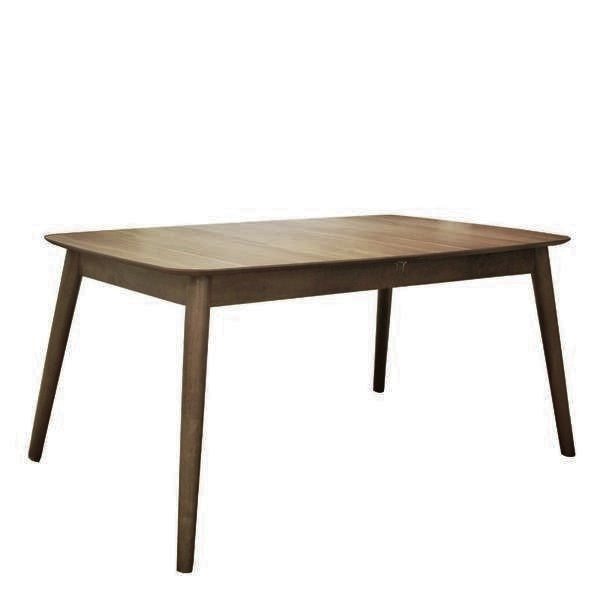 CHESTNUT EXTENDABLE DINING TABLE