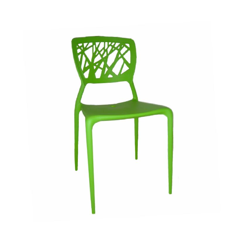 DANI-N STACKABLE DINING CHAIR Dining Chairs STAR Green