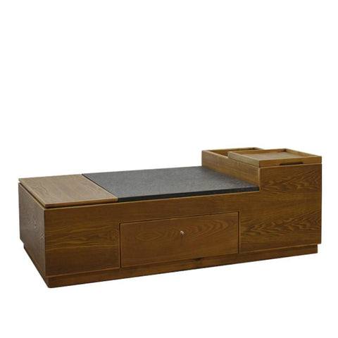 FUJI COFFEE TABLE w/ STONE TOP