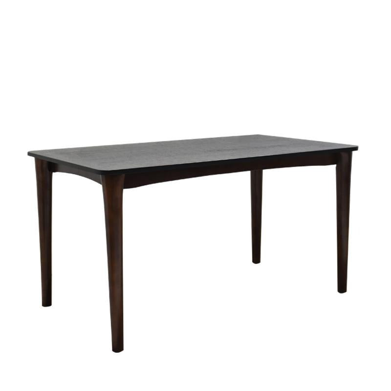 LAVA DINING TABLE w/ BLACK FIRE STONE