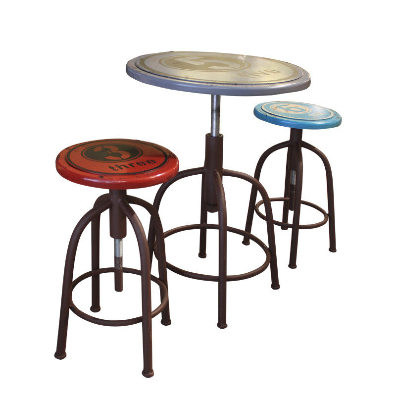 table 2 stools. merry bar table set (1 + 2 stools) table stools