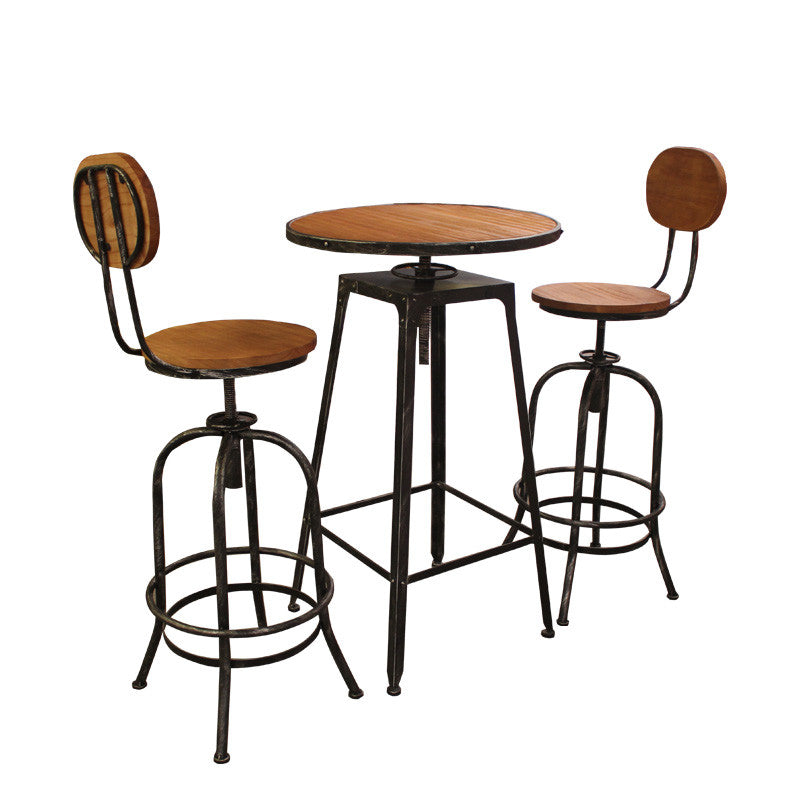 MURPHY BAR TABLE SET (1 TABLE + 2 STOOLS)