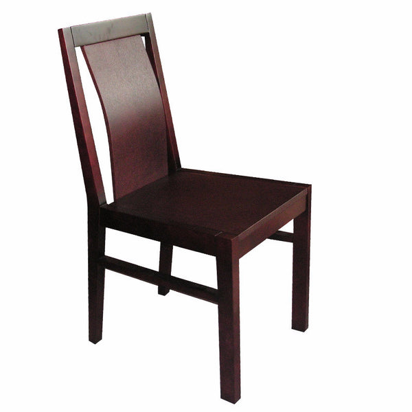 PRADI DINING CHAIR w/ WOODEN SEAT