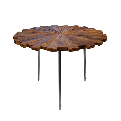 SHINE ROUND END TABLE