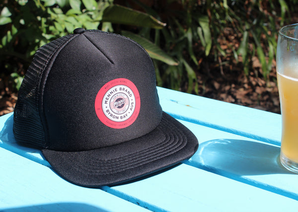KINGSLEY FLAT BRIM TRUCKER CAP - SOLD OUT
