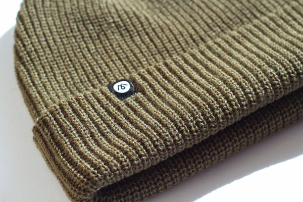LAWSON BEANIE - OLIVE - SOLD OUT